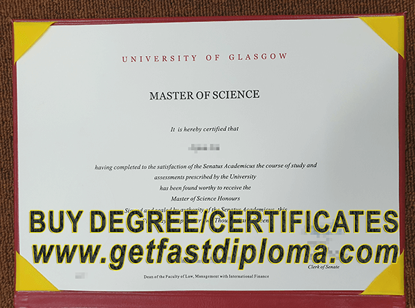 Fast to Get the University of Glasgow degree /buy fake diploma_buy
