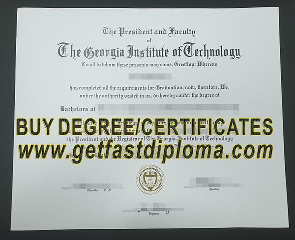 Fake Georgia Tech degree