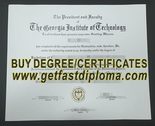 Georgia Institute of Technology fake degree, how to buy fake Georgia