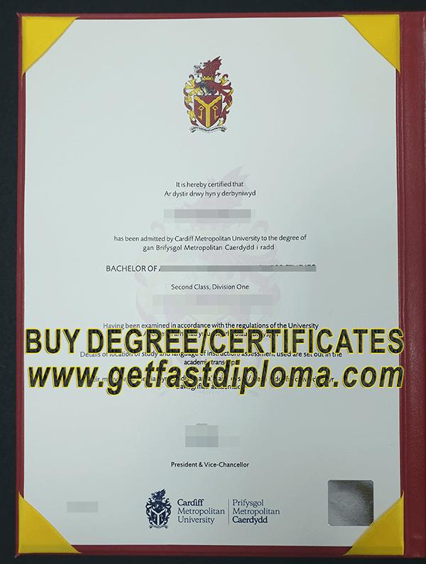 buy fake degree certificate  where to replicate the cardiff metropolitan university fake degree