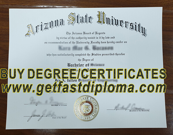 Arizona State University  degree