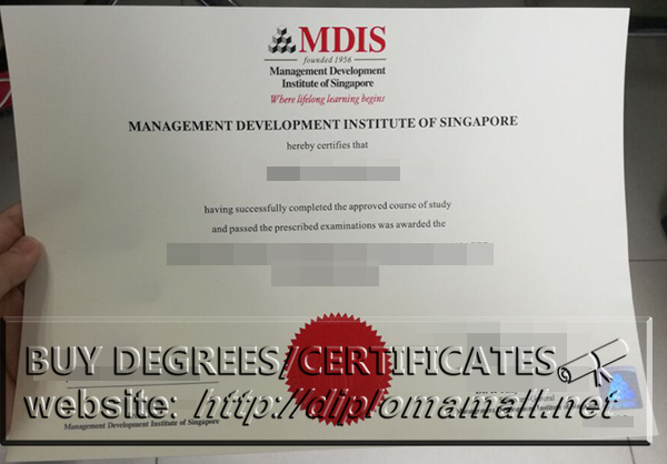Buy MDIS diploma in Singapore, How to buy MDIS certificate?