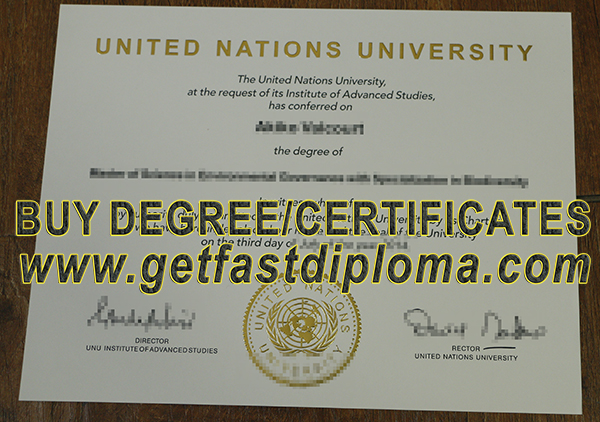 where to buy UNU fake degree? buy fake United Nations  University diploma.