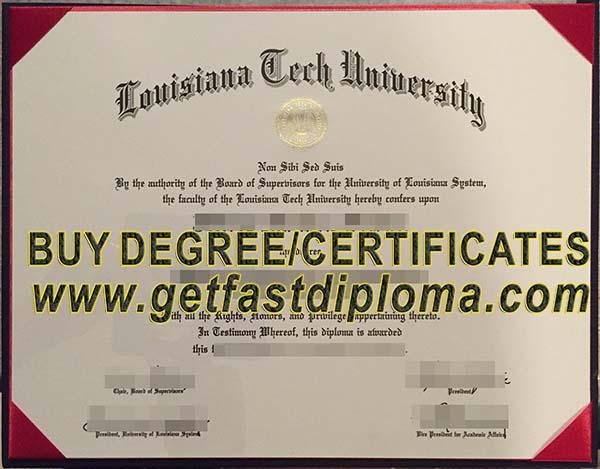 louisiana university fake diploma tech certificate
